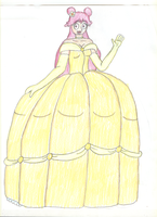Adult Ami in Ballgown - Ver. 2 by TrainsAndCartoons