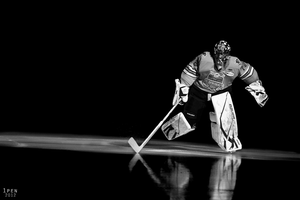 Golden Goalie by 1pen