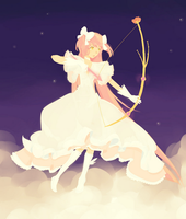 Goddess Madoka by star-melody