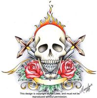 Skull Crest Colour by onksy