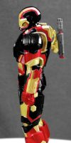 Custom SH Figuart Iron Blood Left side by hk-1440