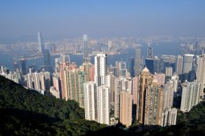 Hong Kong from Victoria Peak by Vivi-S