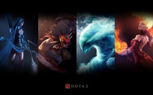 DotA 2 by ArchangelX2