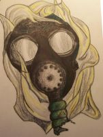 Gas Mask by accomplicefarrell
