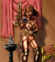 Pirate Pin-Up - Color Roughs by beonarri