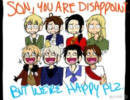 SON YOU ARE DISAPPOINT by schizoed