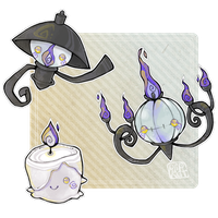 110320. chandelure by Plipkat