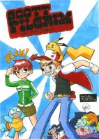 SCOTT PILGRIM VS POKEMON by TheCartoonLoon