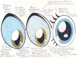 Klaus Nomi Pony Eye Design by DreamRevolution