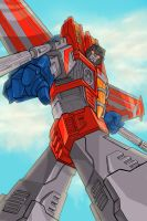 Starscream has spotted you... by wordmongerer