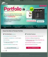 Portfolio Landing Page by TheRyanFord