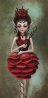 The Rose Princess by Olooriel