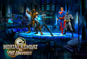 MK vs DC by Iamnoobsaibot