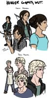 The Hunger Games sketches by ex-m