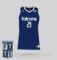Falcons Basketball Kit Design by uncannyNuncertainty