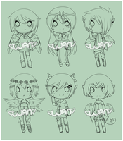 Angel/Demon Adopts Preview by WanNyan
