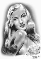 Veronica Lake by Torsk1