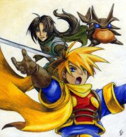 golden sun by Jay-Raven