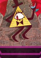Bill Cipher - GRAVITY FALLS. by MonotoneInkwell