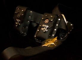 Gotham by Gaslight Utility Belt by TormentedArtifacts