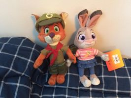 I got Little Nick and Little Judy by EJLightning007arts