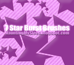 7 Star Burst Brushes by Killa-Cary