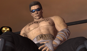 Johnny Cage Bonus by GyakuXryona