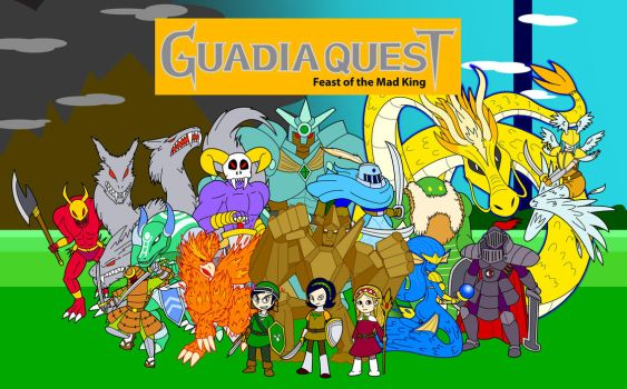 Guadia Quest Fan Poster by KingMonster