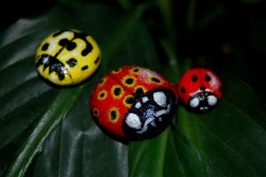 Little ladybirds by starmist
