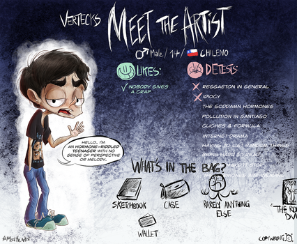 Meet the Artist too early by Vertecks