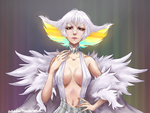 Ragyo Kiryuin commission by wwhitewwand