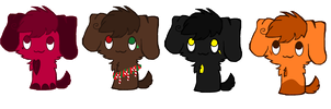 Free Puppy Adopts //OPEN// by SNlCKERS