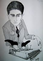Kafka's typewriter by Kavring