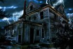 spooky house- matte paintin' by ryujin2490