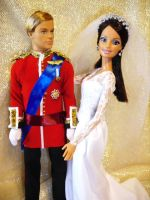 William Catherine Barbie doll by dakotassong