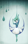 Raindrops by Kecky