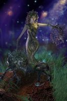 Visual Effects Tree Dryad by hazelong