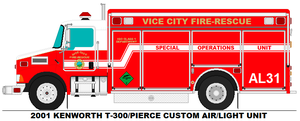 Vice City Fire Dept. Air Light 31 by MisterPSYCHOPATH3001