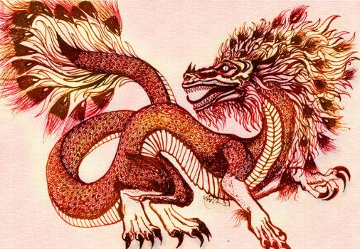 Chinese Dragon by Tolkein-Lady