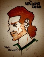 Rick Grimes by Phil-SH