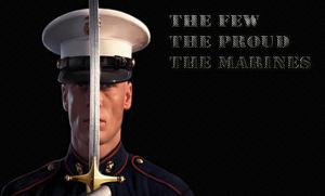 The few Marines by BBetaArts