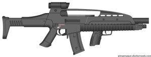 M8 Shotgun by Gods-warfighter