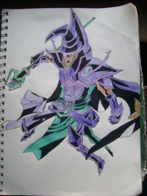 Sorcerer of Dark Magic COLORED by sniperray213