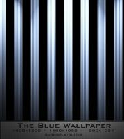 The Blue Wallpaper by burnsplayguitar