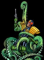 Judge Dredd - Colour by allistermac