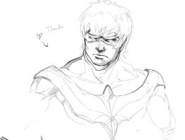 Nightwing Sketch 01 by Animixter