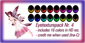 Eyetexture pack Nr 4 (Download) by Ina-C
