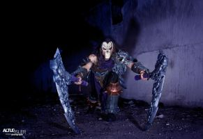 Darksiders 2 - Death Cosplay 1 by MEG-Cosplay