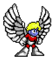 Mega Marvel 003 - Angel by AceOfFlames