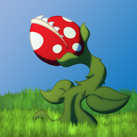 Mario's Plant, I guess by FunnyFany